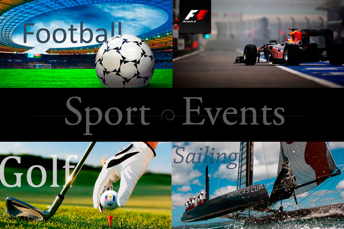 Major international SPORT EVENTS