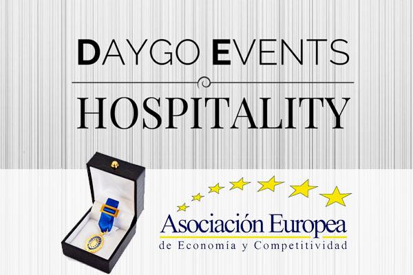 Daygo Eventos galardonado con la Medalla de Oro al Mérito en el Trabajo